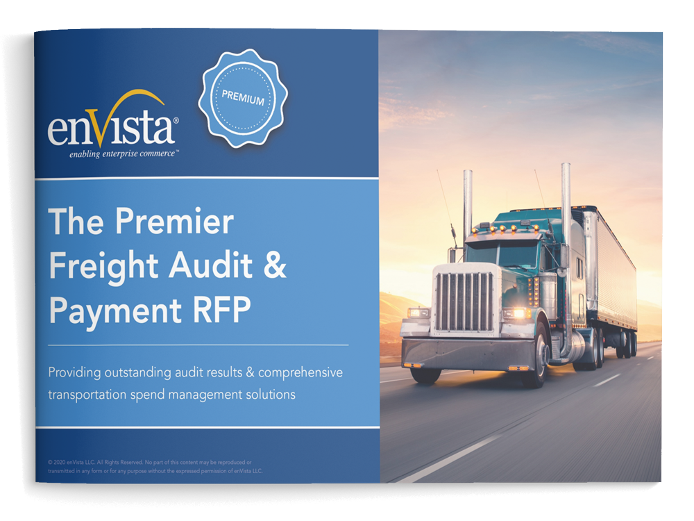 Cover of The Premier Freight Audit & Payment RFP