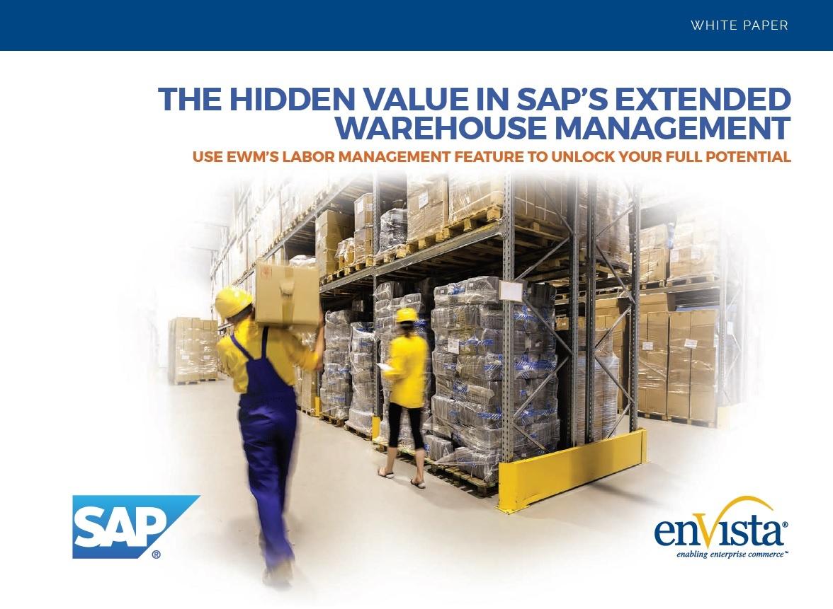 White Paper] Hidden Value of SAP EWM - enVista SAP EWM Consultants